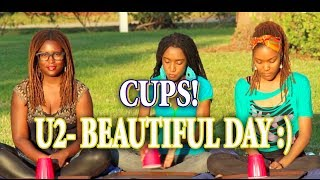 """Cups!"" U2 ""Beautiful Day"" Cover Song Live - 3b4jHoy A Cappella"