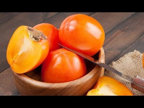 Persimmon fruit nutrition facts and health benefits