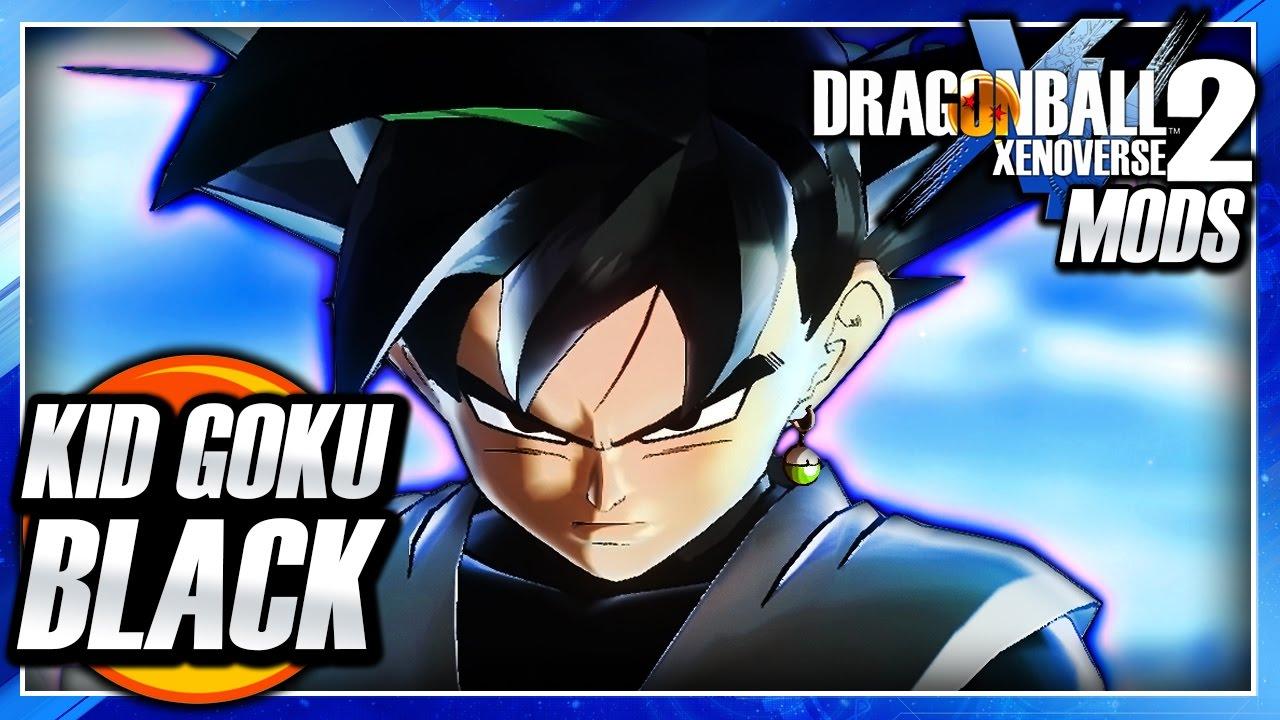 Dragon Ball Xenoverse 2 Pc Kid Goku Black Dlc Super Saiyan Rose