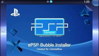 epsp bubble installer v3 1 nueva actualizacin ps vita 26 3 2017