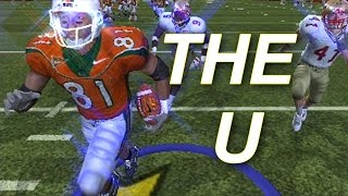 NCAA FOOTBALL 2004 ps2 GAMEPLAY FSU VS THE U ITS A CANE THANG
