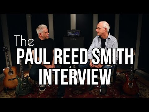 Paul Reed Smith In Person - The PRS Guitar Success Story