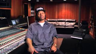 "Straight Outta Compton: Jason Mitchell ""Eazy-E"" Behind the Scenes Movie Interview"