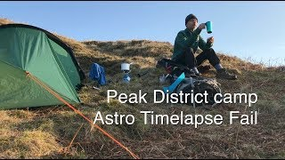Peak District Ladybower Reservoir Wild C Astro Time lapse Fail