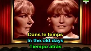 Dans Le Temps Petula Clark Downtown French Version: Lyrics English & French Paroles Translation