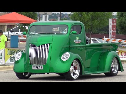Custom Cabover Truck >> Art Deco Custom Coe Cabover Truck By Big Shed Customs Of New Zealand