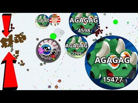 Agar.io Solo Boss vs Hacker Epic Take Over Pro Dominating Agar.io Mobile Gameplay
