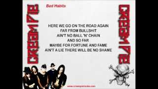 Cream Pie - Bad Habits (w/lyrics) Thumbnail