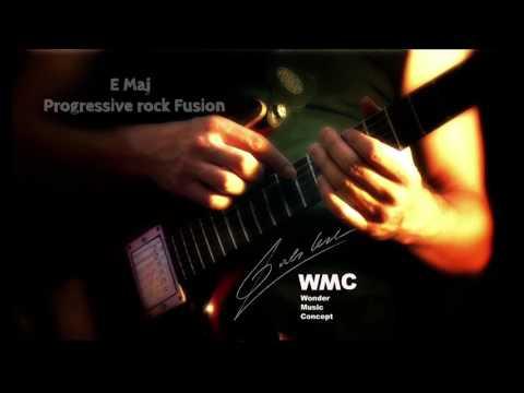 E Progressive rock fusion Backing Track
