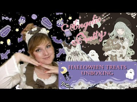 Angelic Pretty Halloween Treats - Unboxing & Review!!