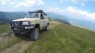 Off Road Ukraina Karpaty 4x4. Katujemy Nissana Patrola - Gruzja Vlog 04