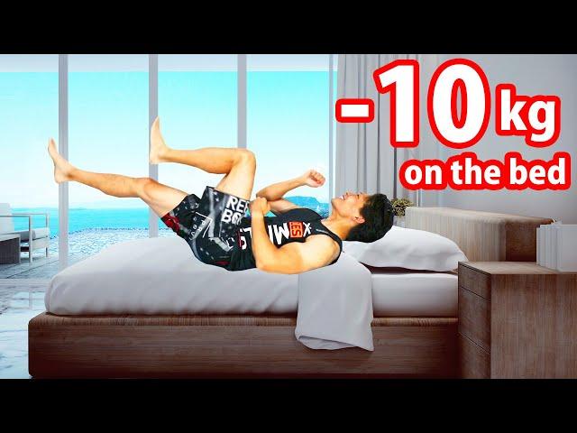 【10分】へその下の脂肪を落とす腹筋有酸素運動!