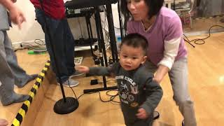 [Universe Hoang - 21months] learn how to dance