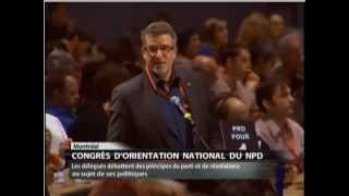 Craig Scott speaks in support of NDP policy resolution on electoral reform