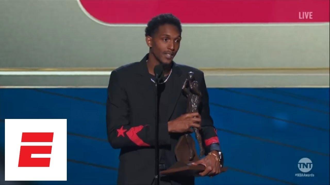 6e2f8b838b7 Lou Williams wins NBA Sixth Man of the Year Award  speech highlights press  conference