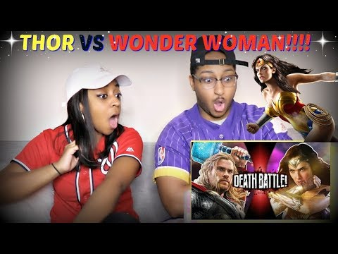 "ScrewAttack! ""Thor VS Wonder Woman (Marvel VS DC Comics) | DEATH BATTLE"" REACTION!!!"