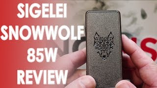 Sigelei Snowwolf 85W Review