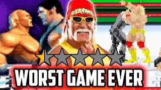 PLAYING THE WORST REVIEWED WRESTLING GAME EVER!!!
