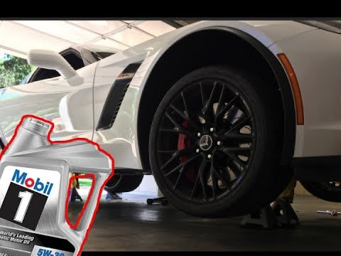 HOW TO CHANGE THE OIL ON A C7 CORVETTE Z06