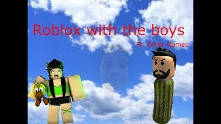 Roblox with the bois (ft. Paper.io)