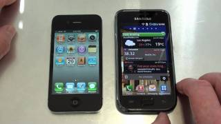 iPhone 4 Vs Samsung Galaxy S Video Review Part 1