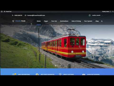 Travel Tour - Tour Management System Walkthrough