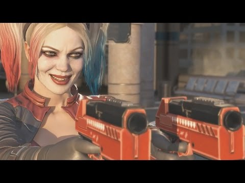 INJUSTICE 2 Wonder Woman Tries to Kill Harley Quinn