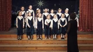 Хоры девочек Рождественский концерт 09.01.17 Успенский Храм Красногорск