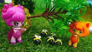 Видео с игрушками для девочек - Феи Glimmies спасают пчелок