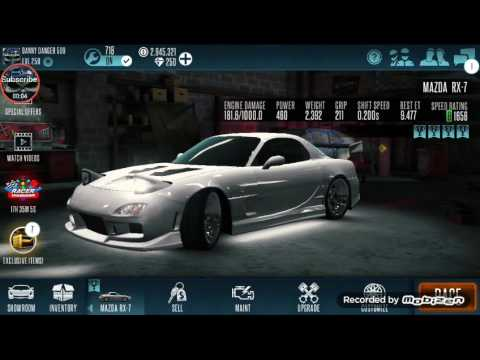 mazda rx 7 1656 turf tune racing rivals youtube. Black Bedroom Furniture Sets. Home Design Ideas