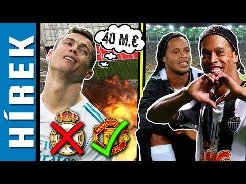 Cristiano Ronaldo becsapva érzi magát! Ronaldinho befejezi pályafutását!   Focihírek