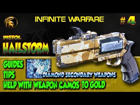 Call Of Duty Infinite Warfare Hailstorm Pistol Golddiamond Camo
