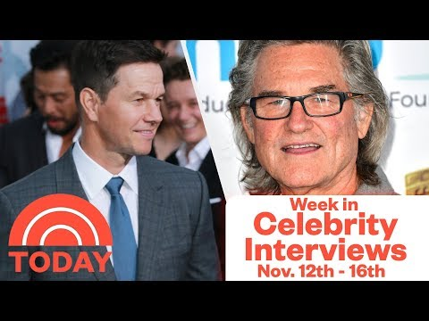 Week in Celebrity Interviews on TODAY - Nov. 12th -16th | TODAY show