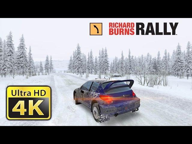 Richard Burns Rally : Old Games in 4K