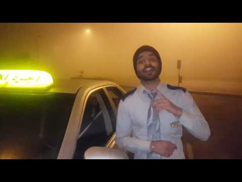 abu dhabi taxi driving song in Punjabi🤗