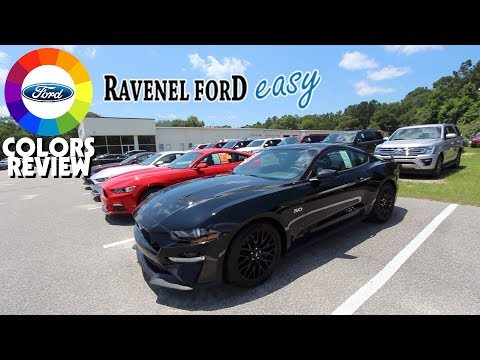 Colors Review 2018 Ford Mustang's - Exterior Color Choices @ Ravenel Ford