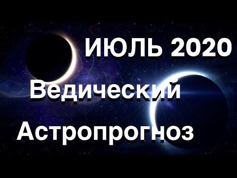 ИЮЛЬ 2020. Ведический Астропрогноз. Все знаки.