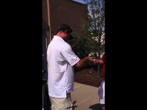 Former Cleveland Indians Pitcher Steve Karsay Signing Autog