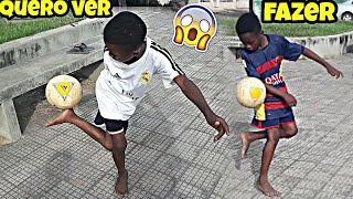 Juninho DESAFIOU Vinicius Júnior😱⚽️ Caneta, Elástico e Freestyle (Desafios de Futebol)