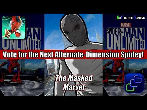 Spider Man Unlimited Android Walkthrough - Community Spidey Preview: The Masked Marvel