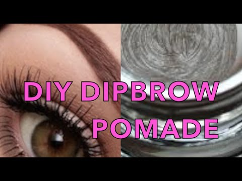 how to make your own dipbrow
