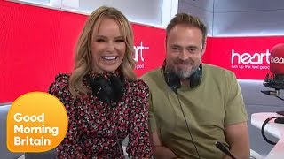 Amanda Holden and Jamie Theakston on Being Piers and Susanna's Morning Rivals   Good Morning Britain