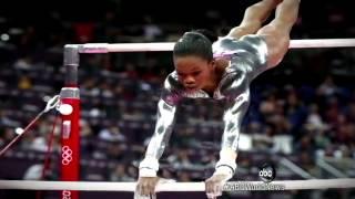 London 2012 Gymnastics: Gabby Douglas Falters