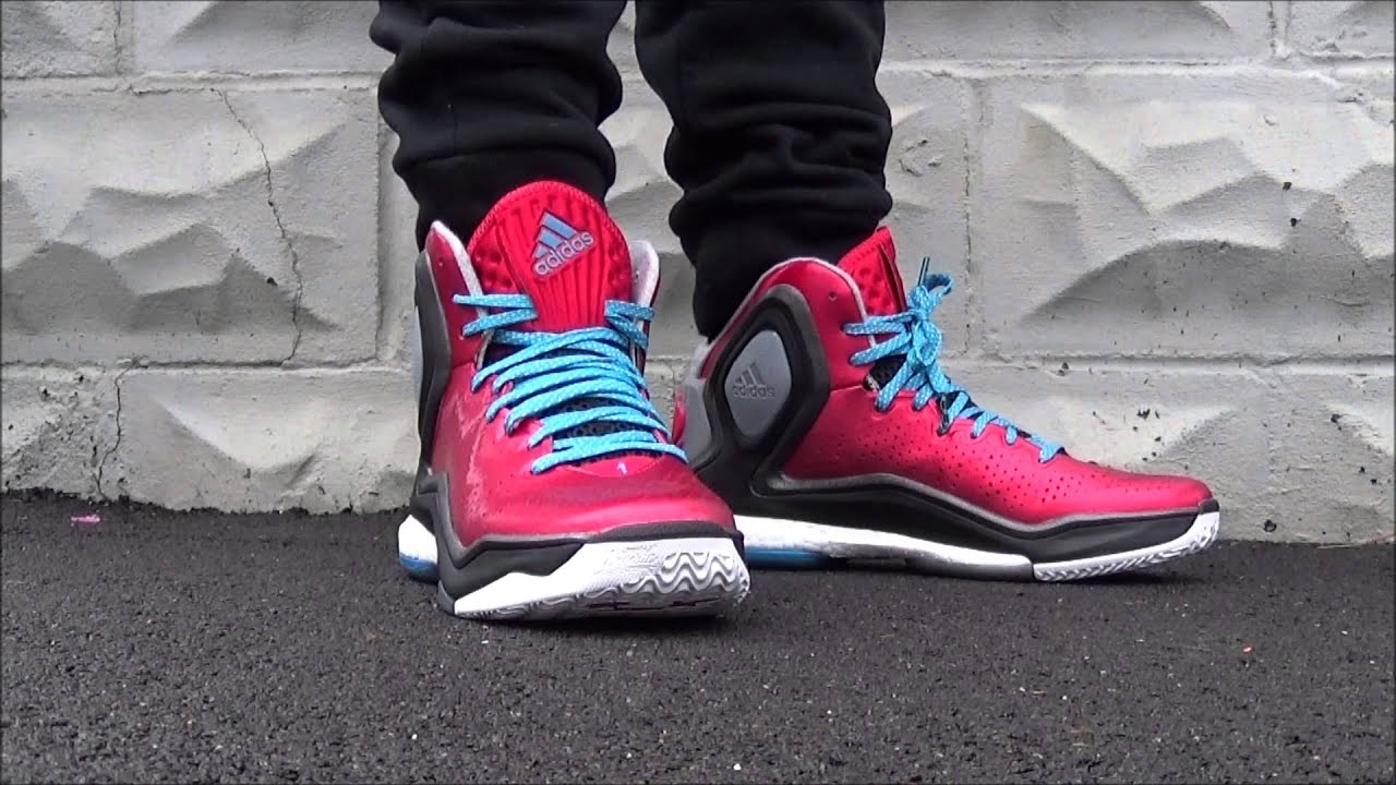 adidas d rose 5 on feet