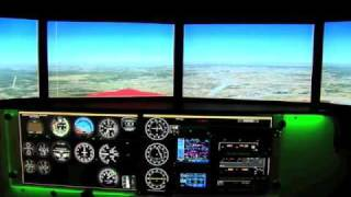 Tnt Air's Redbird Fmx 1000 Full Motion Simulator
