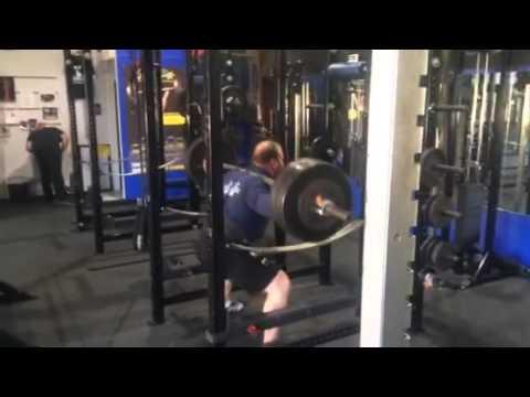 465 lb squat for 20 reps