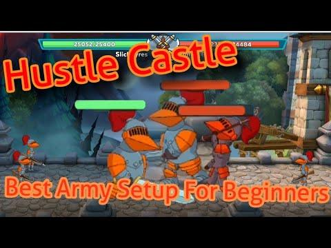 BEST TANK SETUP!!! Hustle Castle.