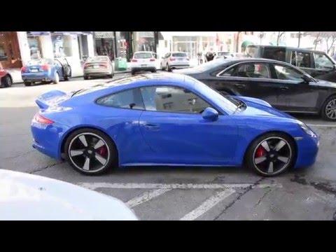 60th Anniversary Porsche Club of America 911 GTS Club Sport Parked