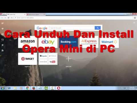 Cara Unduh Dan Install Opera Mini Di PC