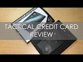 Tactical Credit Card - Review